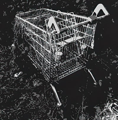 supermarket trolly